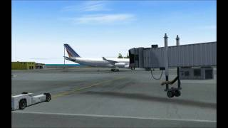 FS9 Princess Juliana Arrival and Departures (Fly Tampa) Hi Def