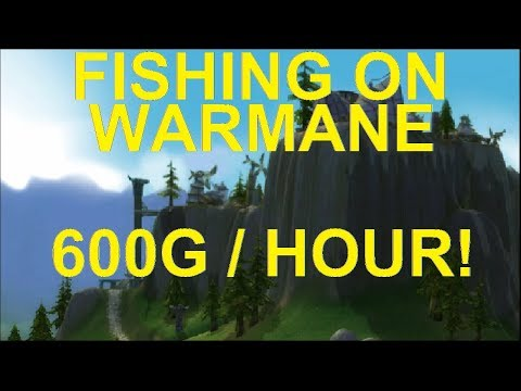 Fishing Bot On Warmane - WOTLK Server - 600G / Hour, EASY $$$$ W/ Fishmonger