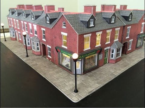 Laying Metcalfe Paving Slabs – Developing the Town Scene – Part 2