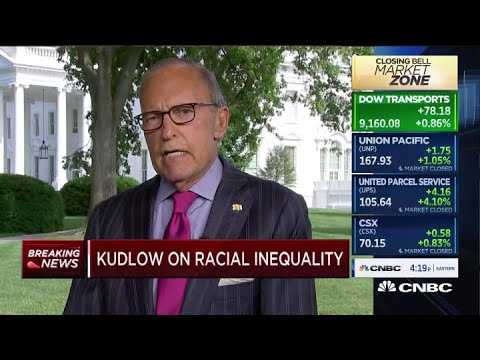 Trump advisor Larry Kudlow: 'I don't believe in systemic racism' Larry Kudlow, White House National Economic Council director, joins .Closing Bell. to talk about racial inequality. The White House economic advisor said ..., From YouTubeVideos