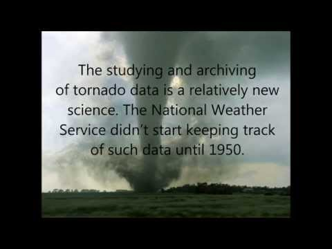 Tornado Count in the Contiguous United States