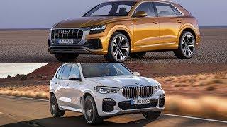 2019 BMW X5 vs 2019 Audi Q8 Comparison - Germans Best SUVs ?
