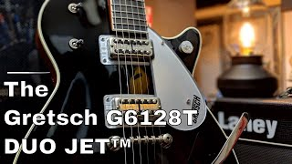 Playing the Gretsch G6128T DUO JET™ WITH BIGSBY®
