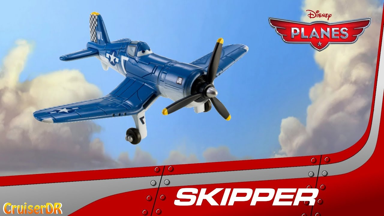 disney planes 2013 diecast skipper 155 scale from mattel