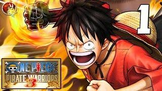 One Piece Pirate Warriors 3 (Español) - Ep1 - Voy a ser el próximo rey de los piratas