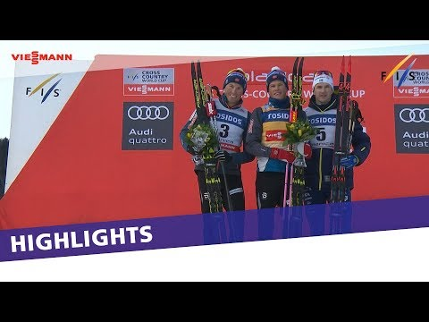 Klaebo back on top of the podium in Men's Sprint in Planica | Highlights