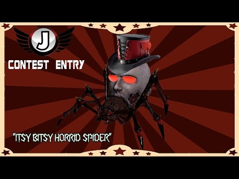 Itsy Bitsy Horrid Spider (Animation Entry to JImquistion Contest)