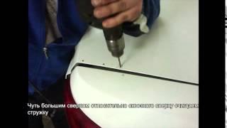 видео Установка спойлера на багажник Лада Гранта лифтбек, седан без сверления