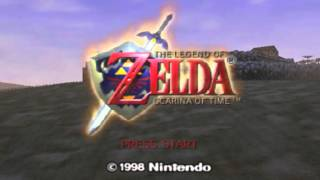 The Legend of Zelda - Ocarina of Time - Legend of Zelda, The - Ocarina of Time (N64) - Title Screen Music - User video