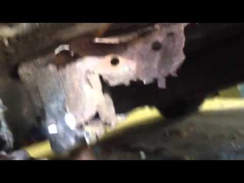 Tr6 rear trailing arm frame repair