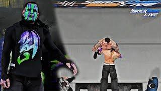 Jeff Hardy Smackdown Live 7/17/2018 Face Paint Mod! (WWE 2K18 PC)