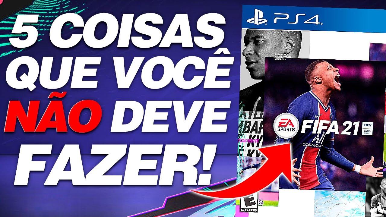 ⚡ NÃO FAÇA ISSO E COMECE BEM NO FIFA 21 ??    LINKER   