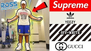 HOW TO DRESS LIKE A HYPEBEAST AT ROSS!!