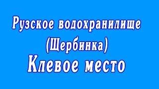 Рузское водохранилище (Щербинка) | Клевое место