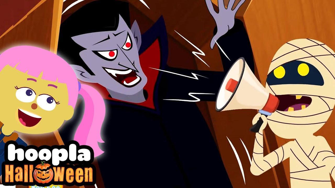 Are You Sleeping Spooky Monsters?   Funny Halloween Songs For Kids   Hoopla Halloween 2021