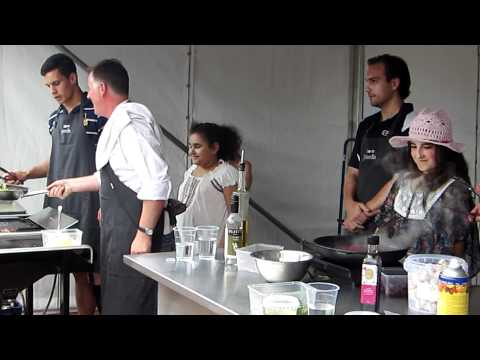 Governor General's Open Day cooking demo