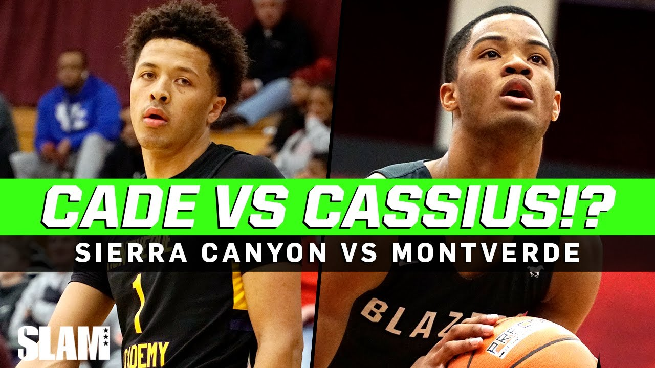 Cade Cunningham vs Cassius Stanley!? Sierra Canyon vs Montverde Throwback Matchup