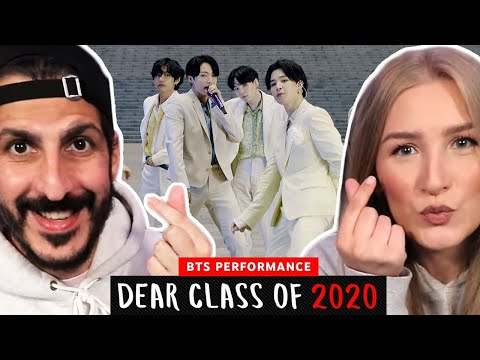 Producer REACTS to BTS Performance | Dear Class Of 2020