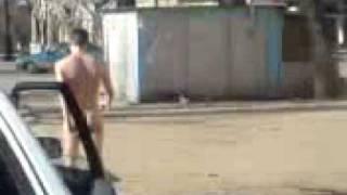 ГАИшники ловят голых людей на дорогах