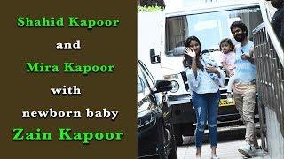 Shahid Kapoor and Mira Rajput Sister Visit Hospital to Meet the Newborn Baby Zain Kapoor