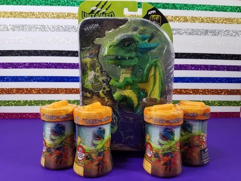 Opening Up Dragon Fingerling And Untamed Mad Lab Minis