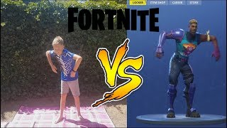 FORTNITE CHALLENGE IN REAL life In real life