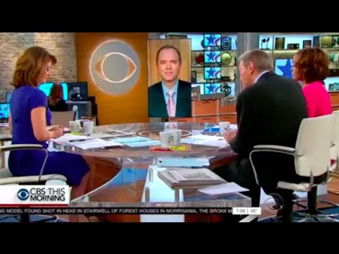 Rep. Schiff on CBS This Morning: Sally Yates Should Be Allowed to Testify