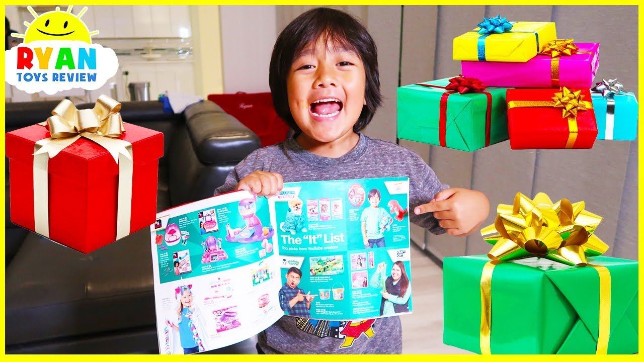 Ryan's Holiday Wishlist! The Best Presents for Kids at Target!