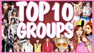 TOP 10 K-POP GROUPS   2014