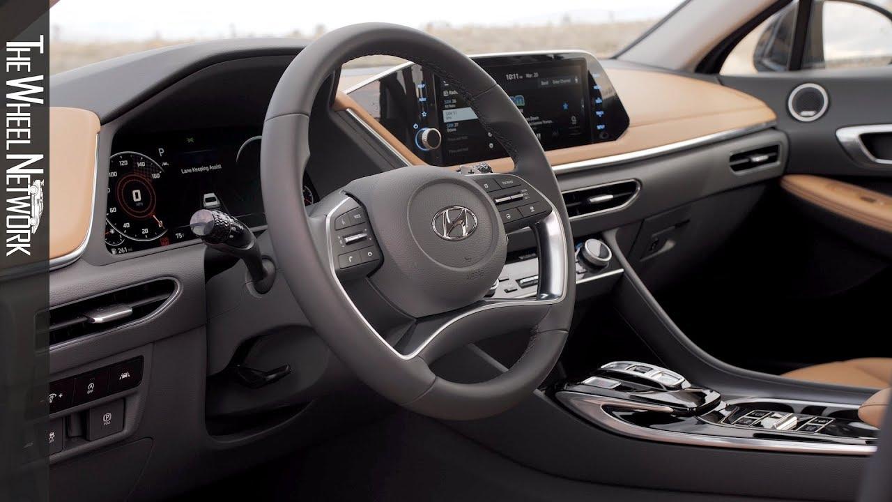 2020 Hyundai Sonata Interior Youtube