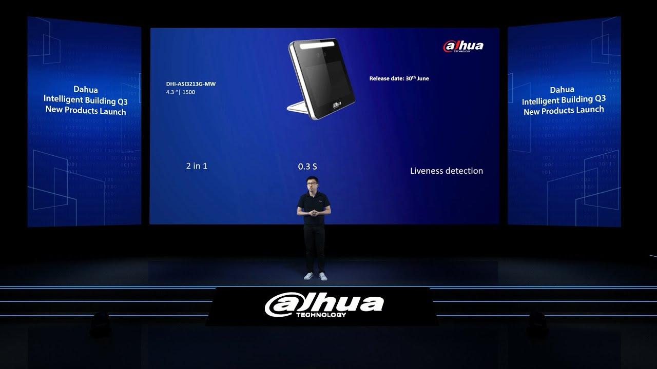 2020 Intelligent Building New Product Launch - Dahua