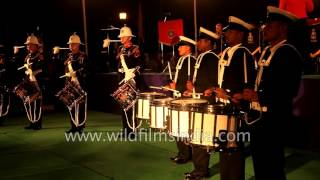 Indian Navy - Royal Marine joint band performance