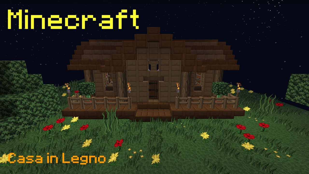 Lastra Di Legno Minecraft : Case di legno in minecraft come realizzare una casa a minecraft