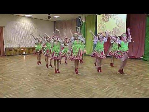 Образцовый ансамбль танца Карусели - Марья-Краса.
