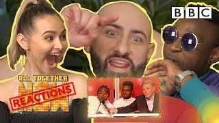 REACTING TO THE TV SHOW WE'RE ON #2 W/ Talia Mar, Rob Beckett, Singing Dentist - All Together Now