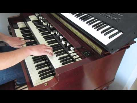 A Whiter Shade Of Pale Cover on Hammond B3