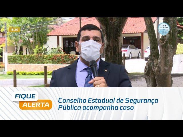 Conselho Estadual de Segurança Pública acompanha caso de policial civil que morreu em Riacho Doce