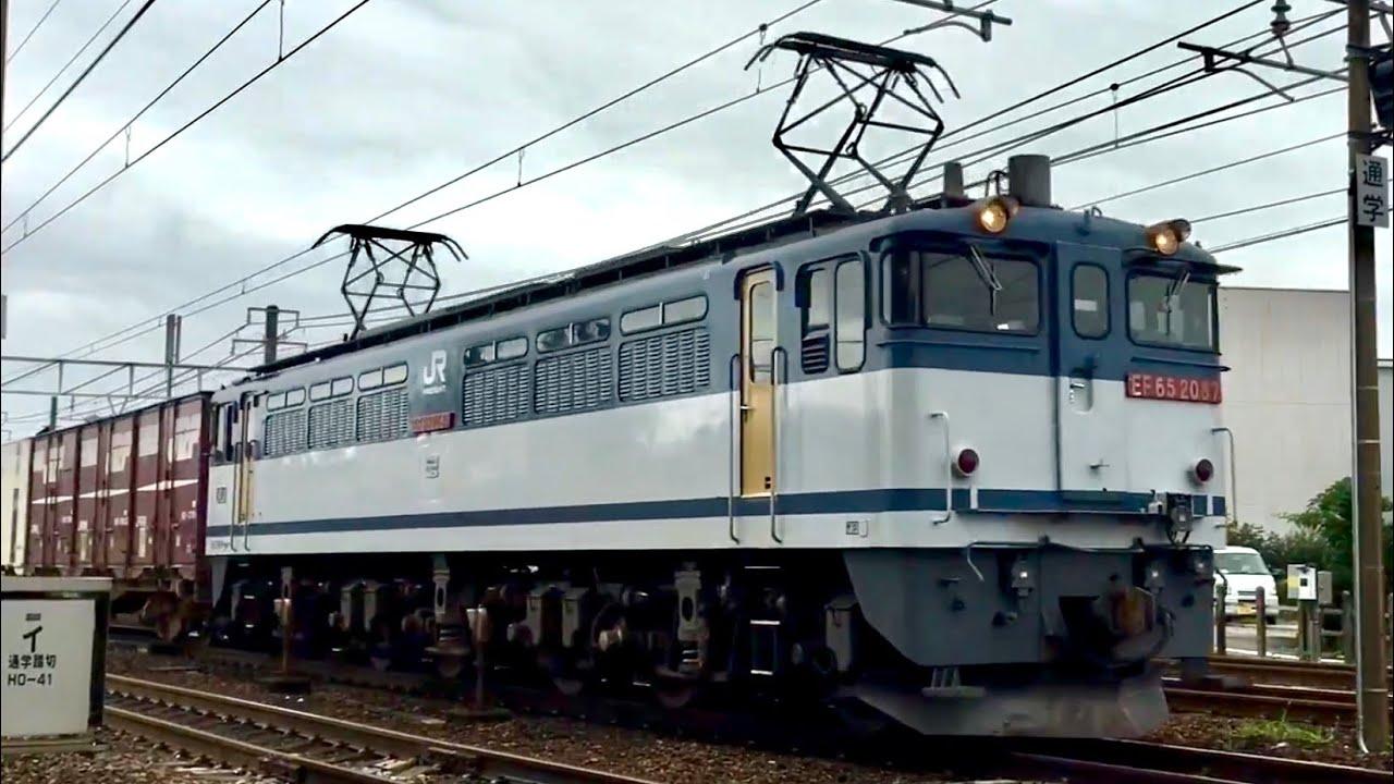 【JR貨物】東海道本線 名古屋地區の貨物列車 通過集 - YouTube