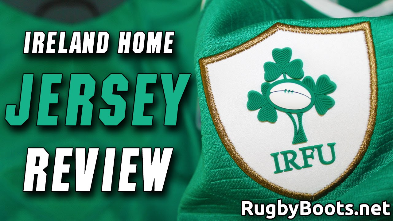 Ireland Rugby World Cup Home Shirt Review Youtube