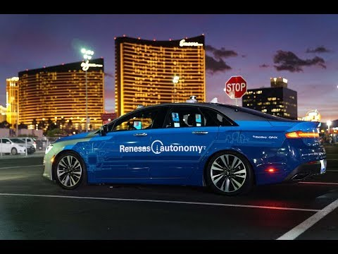 Renesas Automotive @ CES 2018 Highlights