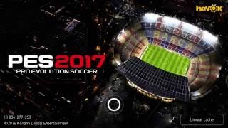 PES 2017 Rodando LG K10 gameplay