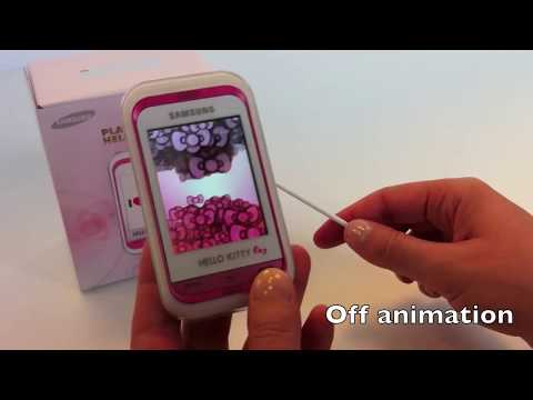 Samsung С3300 Hello Kitty: unboxing & review