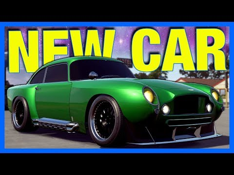 Need for Speed Payback : NEW CAR!! (Aston Martin DB5 Customization)