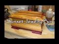 #22 Sunset Jewelry Box