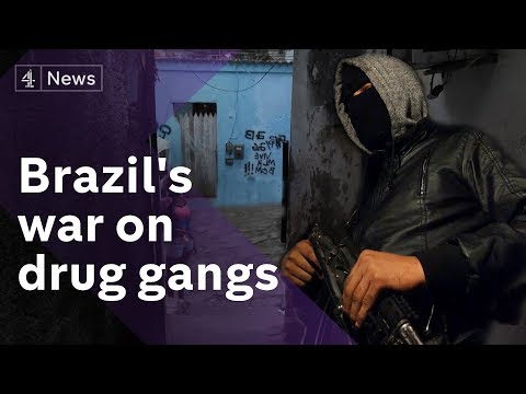 Street crime and murders soaring in Brazil