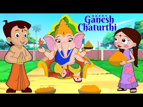 Chhota Bheem - Ganpati Bappa Loves Laddoo | गणपति बप्पा मोरया | Ganesh Chaturthi Kids Special Video