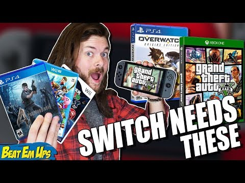 10 Games That NEED To Be Ported To Nintendo Switch!