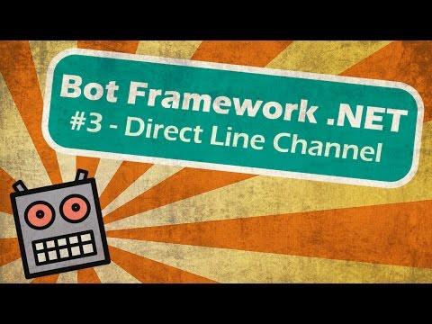 Related Microsoft Bot Framework Bot Direct Line API Videos