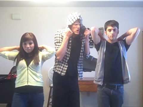 Trio singing Telephone by Lady Gaga