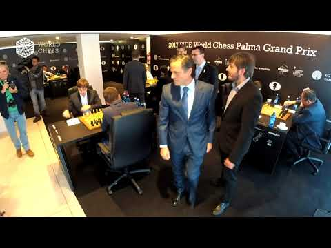 2017 FIDE World Chess Palma Grand Prix. Round 1.
